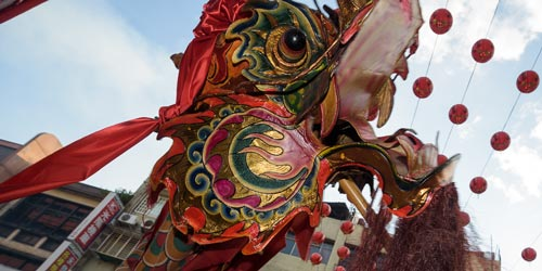 Wu Long (舞龍) Dragon Dance